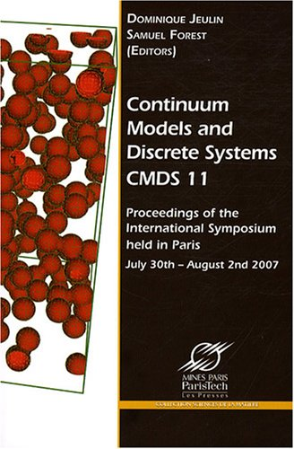 Continuum Models and Discrete Systems CMDS 11