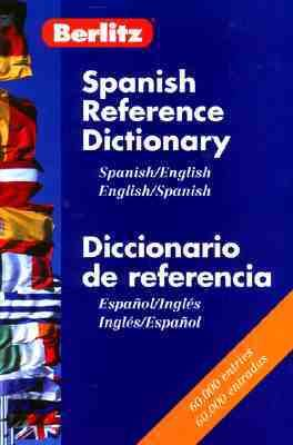 Berlitz Spanish-English Bilingual References Dictionary - Berlitz Publishing - Paperback - REVISED & UPDATED