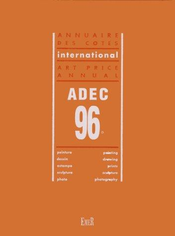 ADEC 96 Art Price Annual