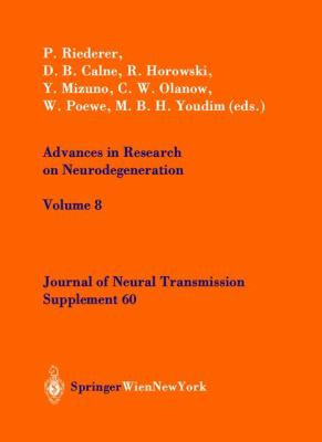 Advances in Research on Neurodegeneration