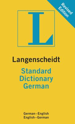Langenscheidt Standard Dictionary German (Langenscheidt Standard Dictionaries)