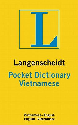 Langenscheidt Pocket Dictionary Vietnamese (Langenscheidt Pocket Dictionaries)