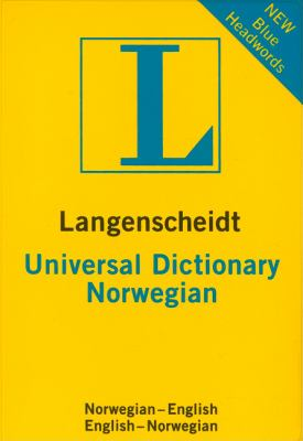 Langenscheidt Universal Dictionary Norwegian (Langenscheidt Universal Dictionaries (German))
