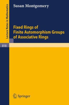 Fixed Rings of Finite Automorphism Groups of Associative Rings