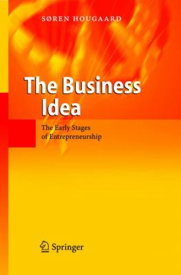 Business Idea The Early Stages Of Entrepreneurship
