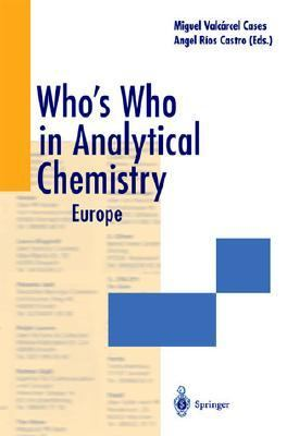 Who's Who in Analytical Chemistry Europe