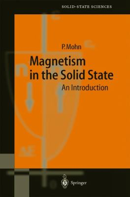Magnetism in the Solid State An Introduction