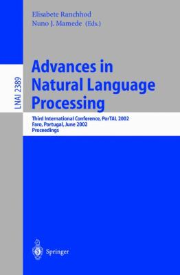 Advances in Natural Language Processing Third International Conference, Portal 2002, Faro, Portugal, June 23-26, 2002  Proceedings