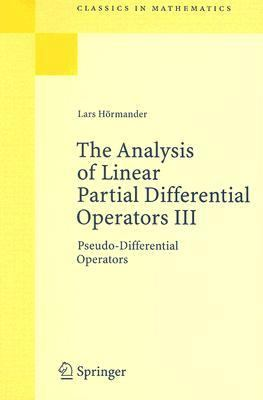 Analysis of Linear Partial Differential Operators III Pseudo- Differential Operators