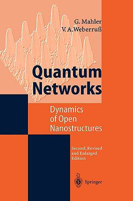 Quantum Networks Dynamics of Open Nanostructures