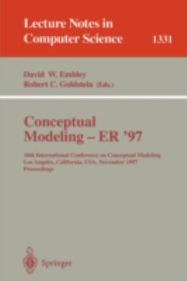 Conceptual Modeling - Er '97 16th International Conference on Conceptual Modeling Los Angeles, California, USA November 3-5, 1997  Proceedings
