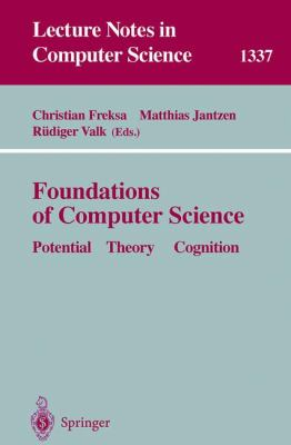 Foundations of Computer Science Potential-Theory-Cognition