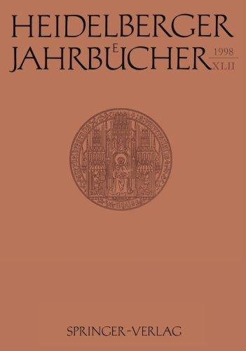 Heidelberger Jahrbcher (German Edition)