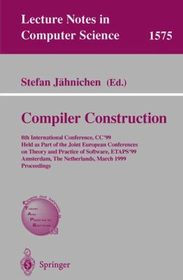 Compiler Construction 8th International Conference, Cc'99, Held As Part of the Joint European Conferences on Theory and Practice of Software, Etaps'99, Amsterdam, the nethe
