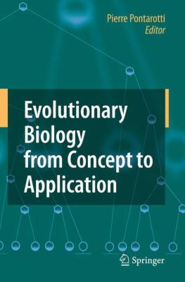 Evolutionary Biology from Concept to Application