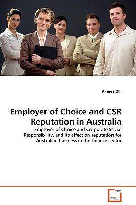 Employer Of Choice And Csr Reputation In Australia - Gill, Robert pdf epub