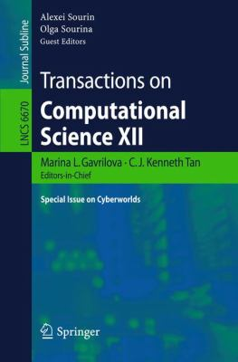 Transactions on Computational Science XII : Special Issue on Cyberworlds
