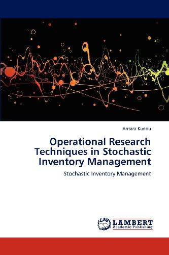 Operational Research Techniques in Stochastic Inventory Management