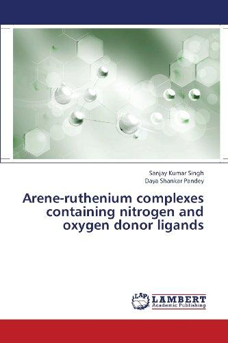 Arene-ruthenium complexes containing nitrogen and oxygen donor ligands