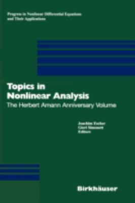 Topics in Nonlinear Analysis The Herbert Amann Anniversary Volume