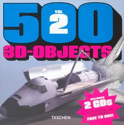 500 3D Objects Vol. II