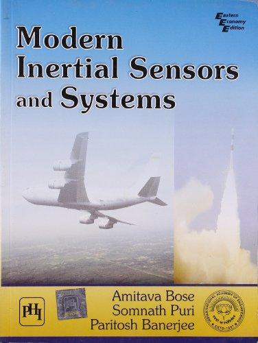 Modern Inertial Sensors and Systems
