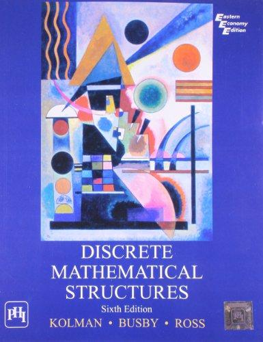 Discrete Mathematical Structures 6th Economy Edition