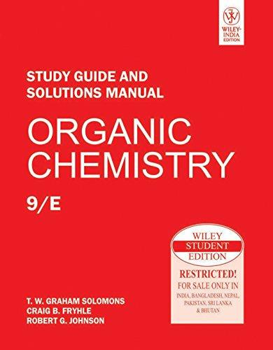 Organic Chemistry, Study Guide And Solutions Manual, 9Th Ed
