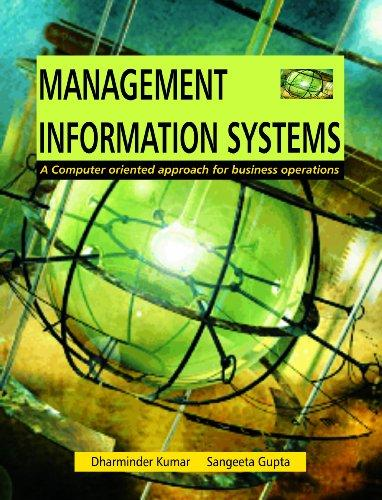 Management Information Systems: A Computer Oriented Approach for Business Operations