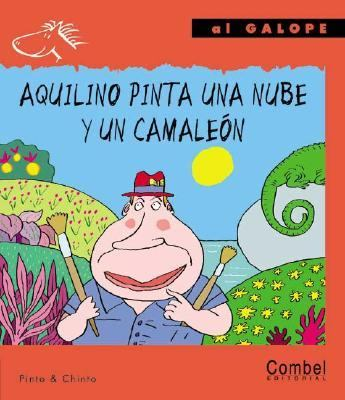 Aquilino Pinta Una Nube Y UN Camaleon / Aquilino Paints a Cloud and a Chameleon