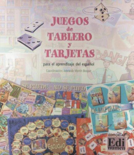 Juegos de tablero y terjetas / Games with Flashcards and Boards: Para el aprendizaje del espanol / For Learning Spanish (Spanish Edition)