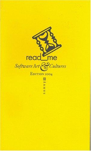 Read Me: Software Art & Cultures