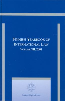Finnish Yearbook of International Law 2001