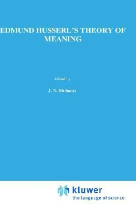 Edmund Husserl's Theory of Meaning