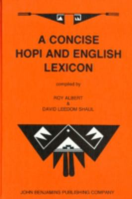 A Concise Hopi and English Lexicon