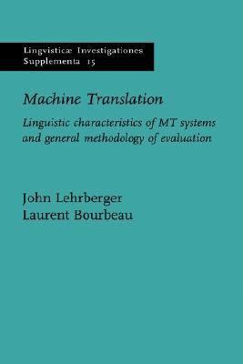 Machine Translation Linguistic Characteristics Of Mt border=
