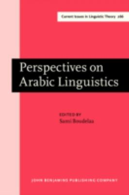 Perspectives on Arabic Linguistics: Papers from the annual symposium on Arabic linguistics. Volume XVI: , Cambridge, March 2002 (Current Issues in Linguistic Theory)