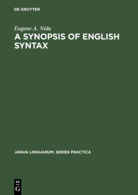 Synopsis of English Syntax