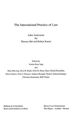 International Practice of Law