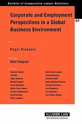 Corporate And Employment Perspectives in a Global Business Environment