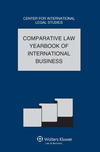 Comparative Law Yearbook International Business, 2011 Volume 33 (Comparative Law Yearbook of International Business)