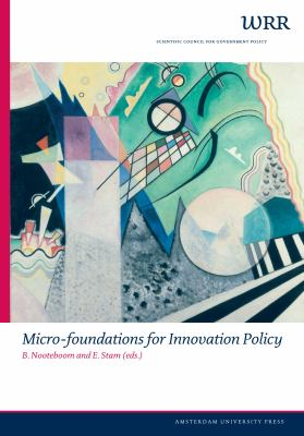 Micro-Foundations for Innovation Policy - Scientific Council for Africa South of the Sahara Staff, Stam, Erik, Nooteboom, Bart pdf epub