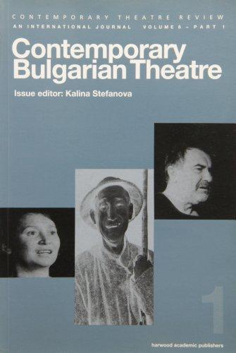 Cont Bulgarian Theatre Vol 1 (Contemporary Theatre Review) (Pt. 1)