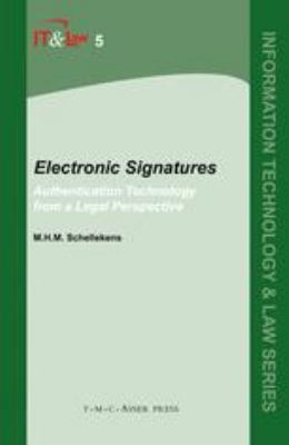 Electronic Signatures Authentication Technology From A Legal Perspective