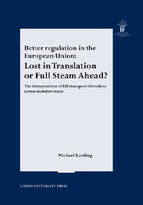 Better Regulation In The European Union