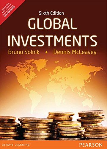 Global Investments 6th International Edition