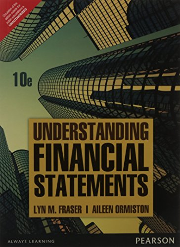 Understanding Financial Statements 10 ED