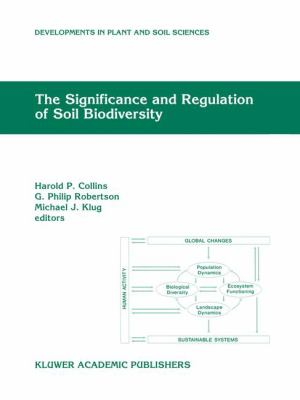 Significance and Regulation of Soil Biodiversity : Proceedings of the International Symposium on Soil Biodiversity, Held at Michigan State University, East Lansing, May 3-6 1993