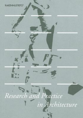 Research and Practice in Architecture
