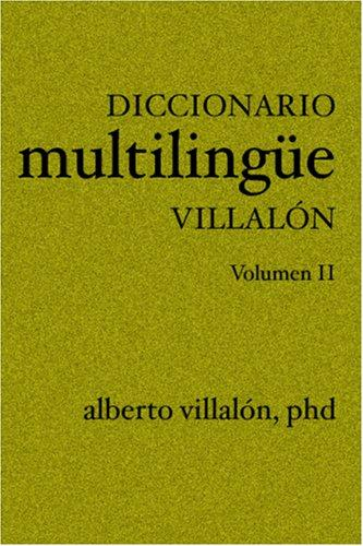 Diccionario Multilinge Villalon (Spanish Edition)